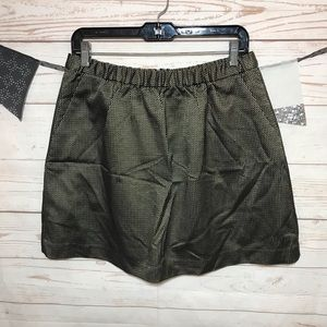 Madewell A-Line Mini Skirt With Pockets Size M